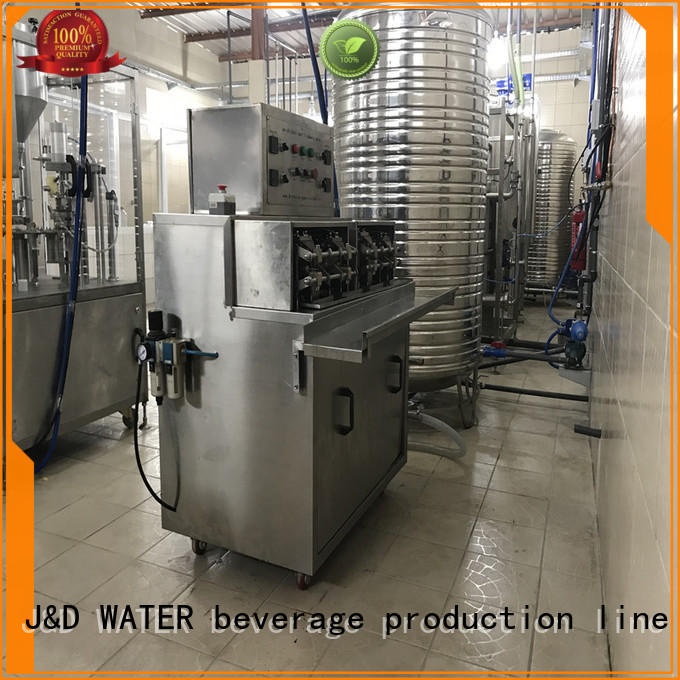J&D WATER bagging machine high automation for package