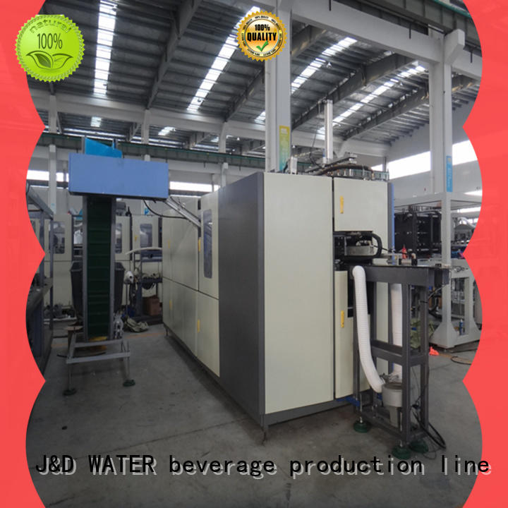 easy operation pet blow moulding machine stable for mineral water