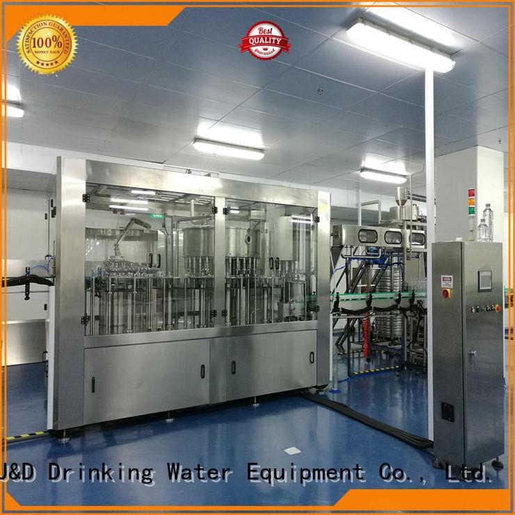 J&D WATER 10003000 bottle capping machine factory juice,tea,soy sauce,vinegar,milk