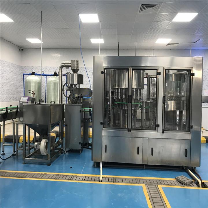 easy operation bottling machine for sale stainless steel for vinegar J&D WATER