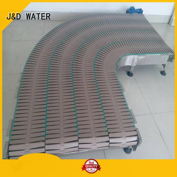 easy transport slat conveyor stainless steel for food