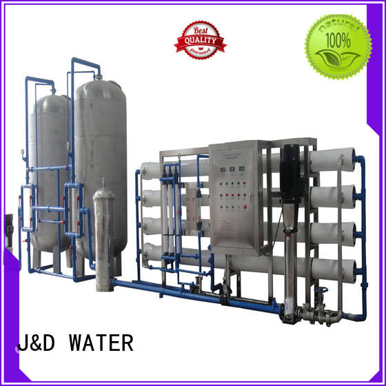 J&D WATER reverse osmosis water treatment machine With Steel for water treatment