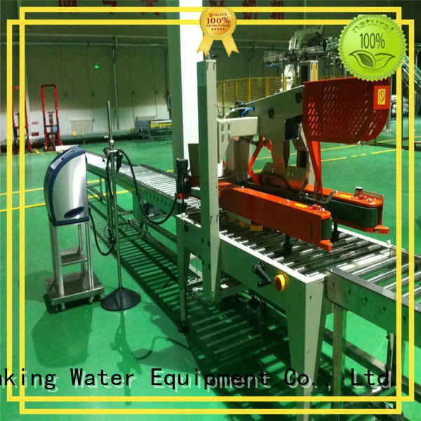 high quality roll conveyor stainless steel for drinking J&D WATER