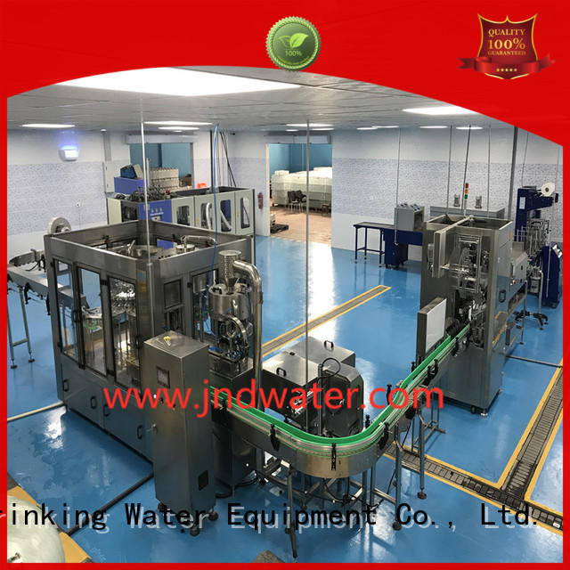 Hot carbonated bottle capping machine easy beverage J&D WATER Brand