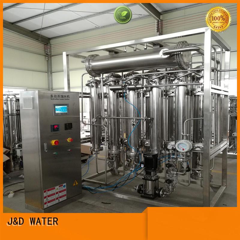 J&D WATER low energy consumption best water distiller effortlessly for hospital