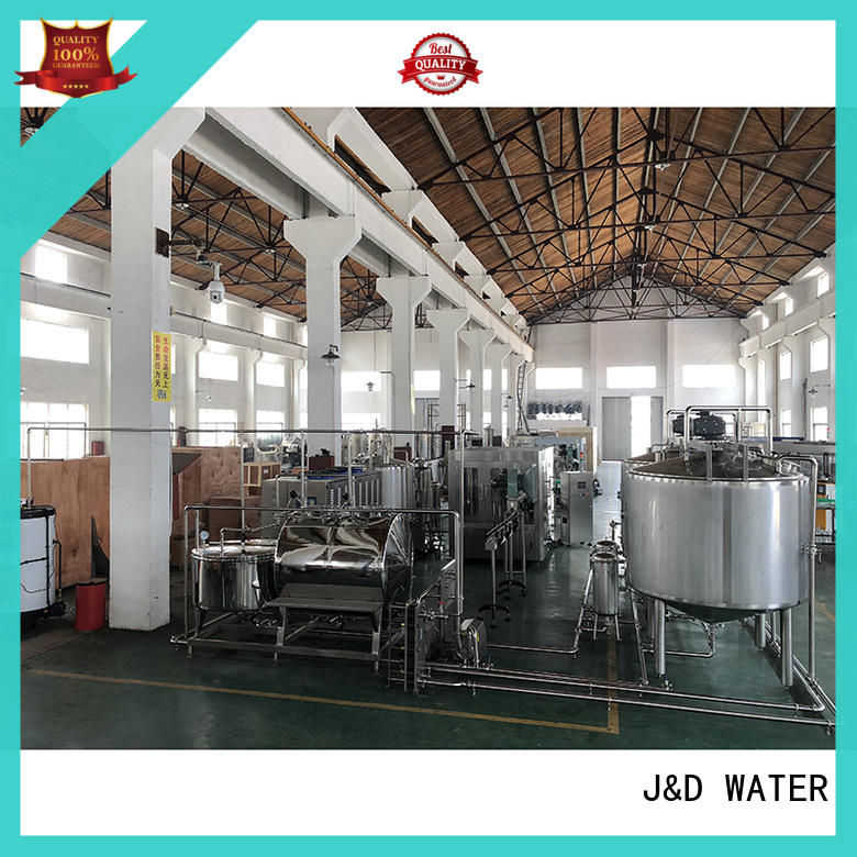 J&D WATER mineral water machine factory for pure water