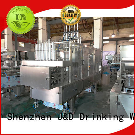 J&D WATER filling cup filling machine high automation for hot infusion