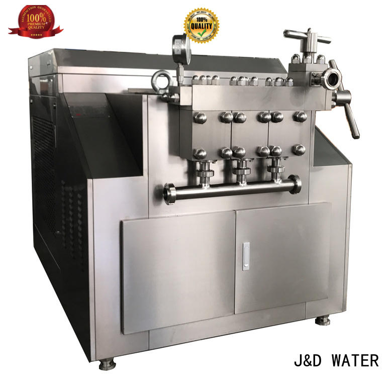 J&D WATER fast installation Homegenizer machine favorable quality for sale