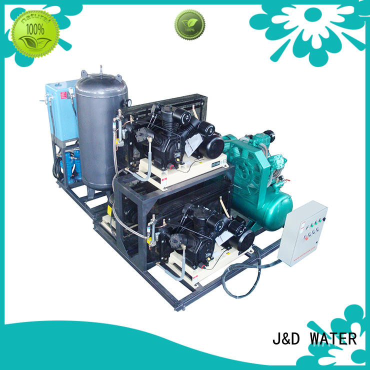 J&D WATER easy operation mixing tank best price oem&odm