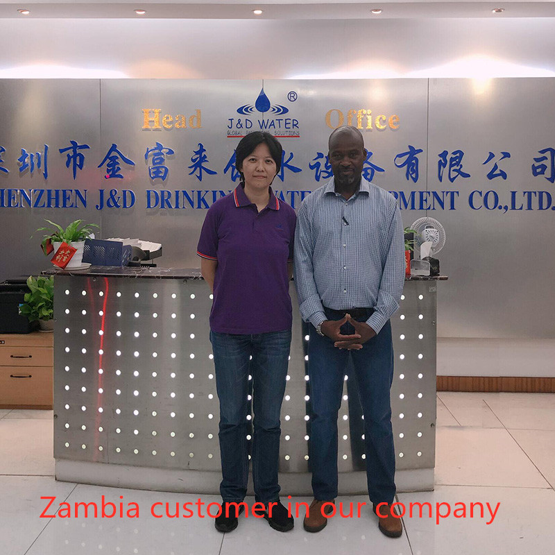 JD WATER-Read Zambia Customer In Our Company News On Jd Water Beverage Production Line