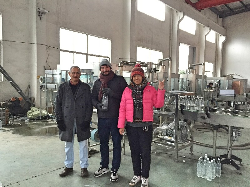 JD WATER-Colombia Customers In Our Factory | Customer Visit
