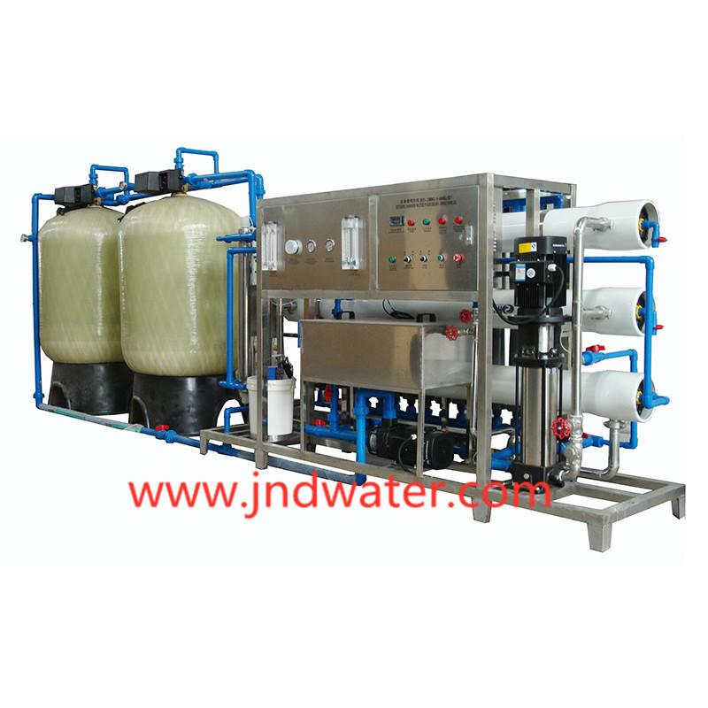 Traitement d'eau par osmose inverse dans des réservoirs en verre JNDWATER