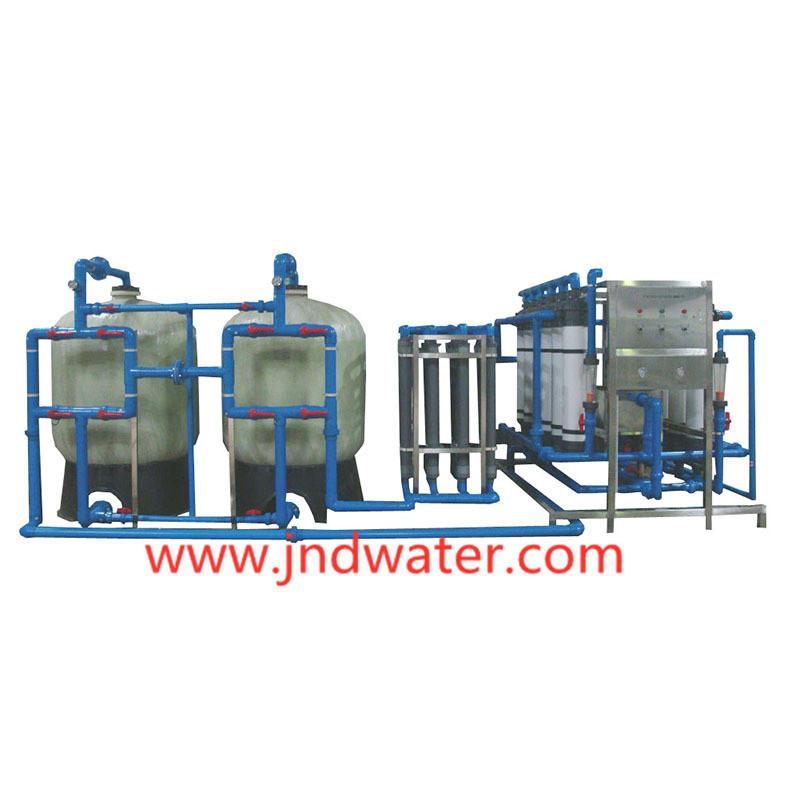 Оборудование для очистки минеральной воды