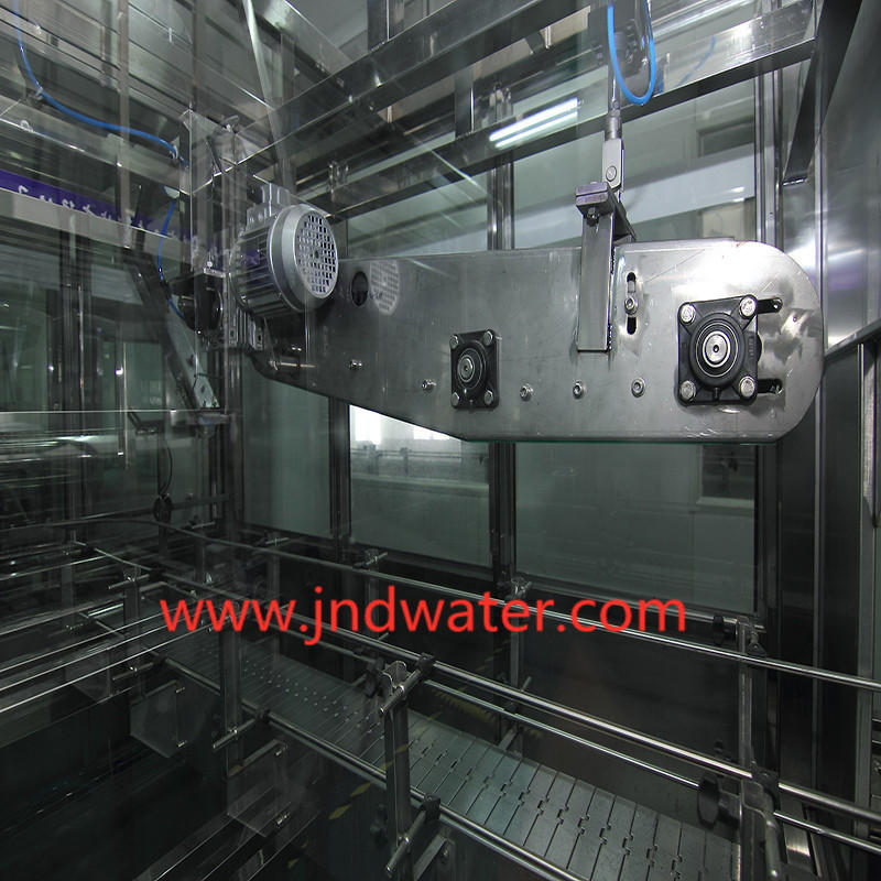 JNDWATER 5 Gallon 3 in 1 Automatic Liquid  Filling Machine