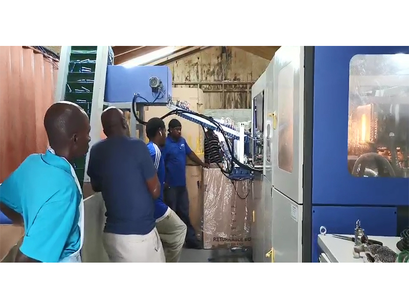 JD WATER-Jndwater Antigua Blowing Machine Equipment Commissioning-1