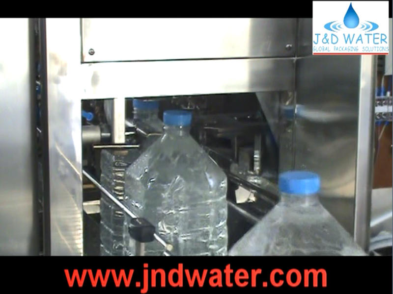 JNDWATER 3-10 Liter bottle filling machine