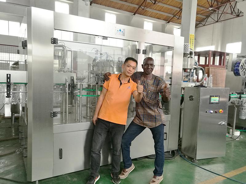 JD WATER-Customer Jndwater Factory Inspection, Shenzhen Jd Drinking Water Equipment Co-1
