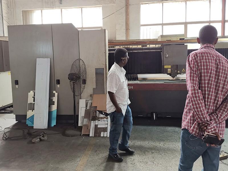 JD WATER-Customers Visit Jndwater Factory