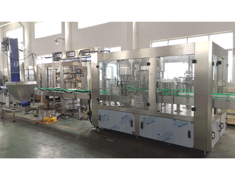 bottle filling machine- blow moulding machine- water treatment equipment-J&D WATER