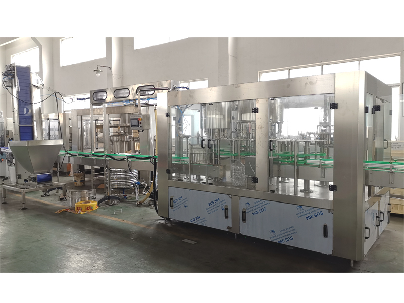 JD WATER-Jndwater Has Finished Water Filling Machine