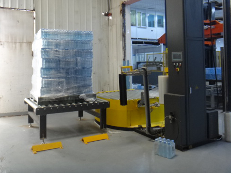 JD WATER-Jndwater Pre-stretch Pallet Wrapper Is Complete, Shenzhen Jd Drinking