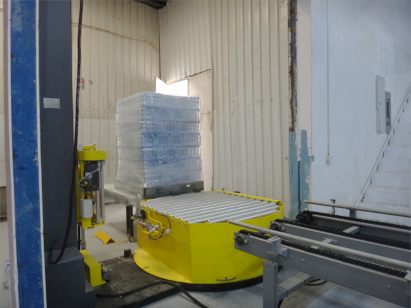 JD WATER-Jndwater Pre-stretch Pallet Wrapper Is Complete, Shenzhen Jd Drinking-1