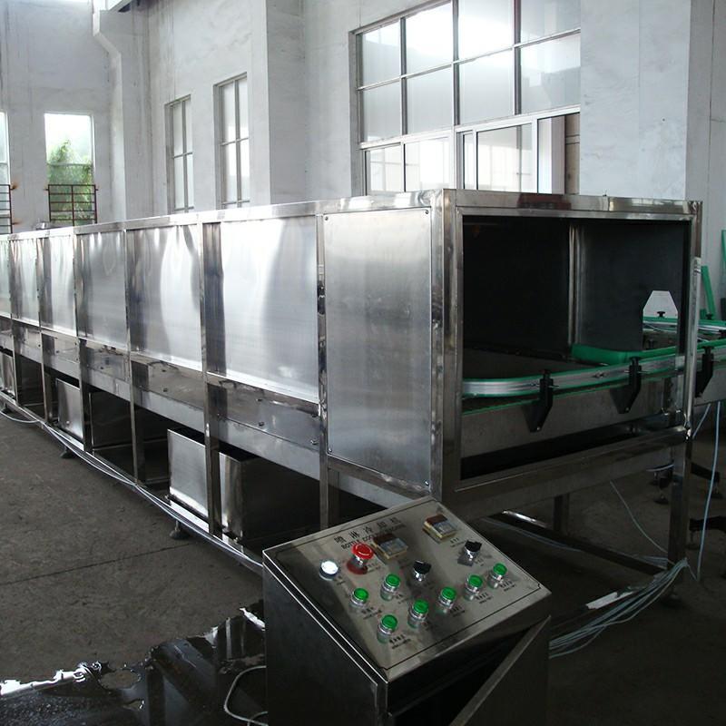 JND série Pulvérisation D'eau type de Bouteille De Refroidissement (Réchauffement) Machine