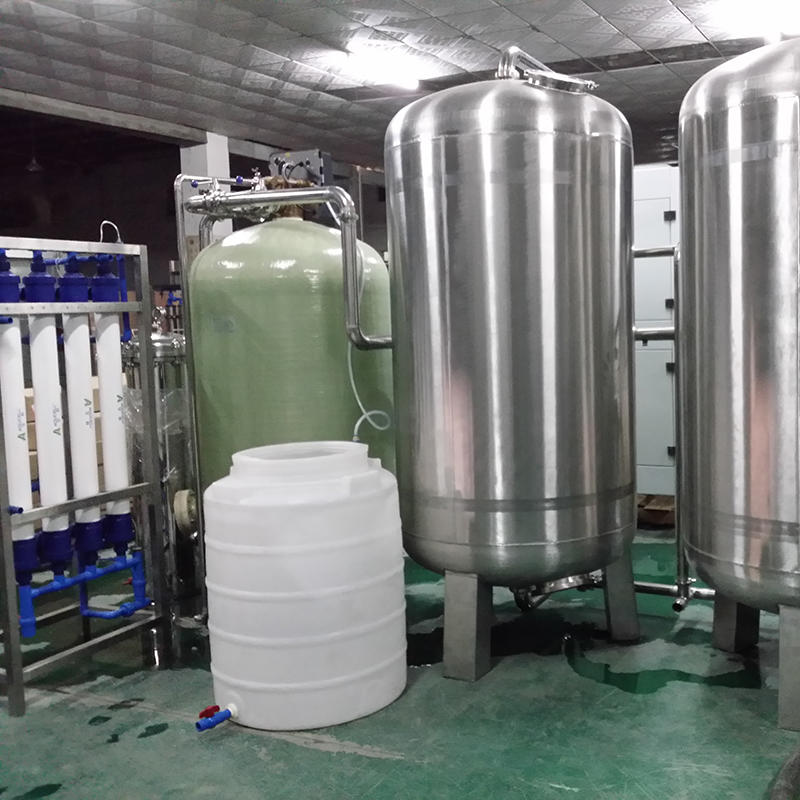 J&D WATER commercial reverse osmosis system With Steel for water treatment