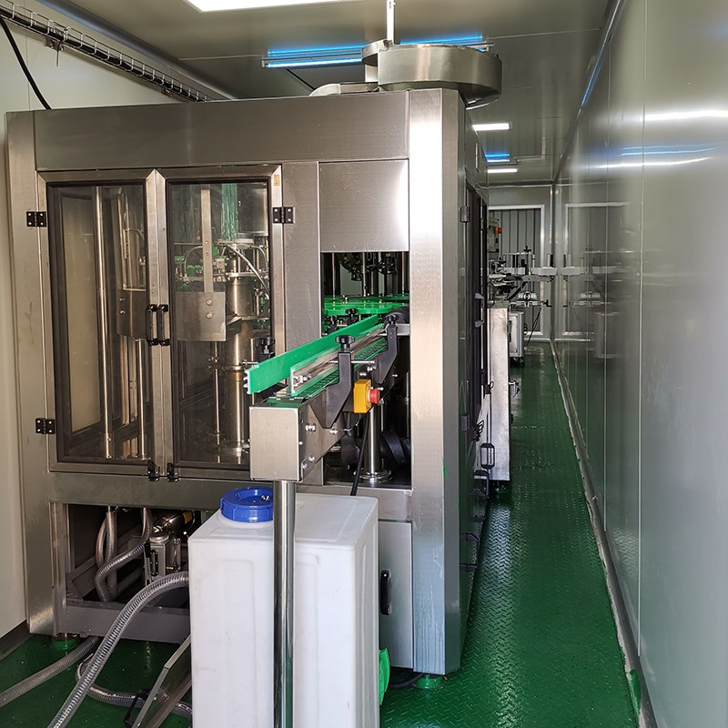 JD WATER-Water Plant Machine Manufacturer, Jndwater Container Small Drinking Water Filling Plant | J-2