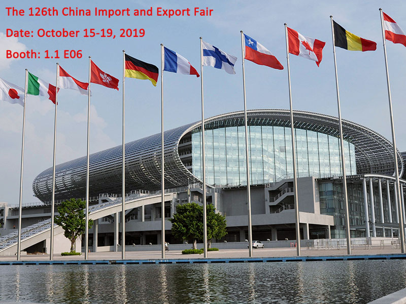JD WATER-Welcome To Visit Us At The 126th China Import And Export Fair, Shenzhen