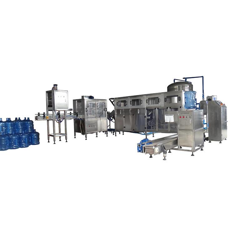 Complete 5 Gallon Barrel Beverage Production Line