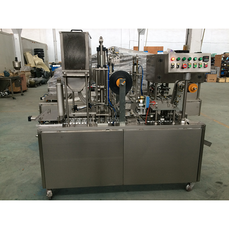 Automatic Cup Filling Sealing Machine-J&D WATER