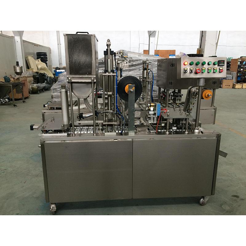 Máquina de sellado de llenado automático de tazas