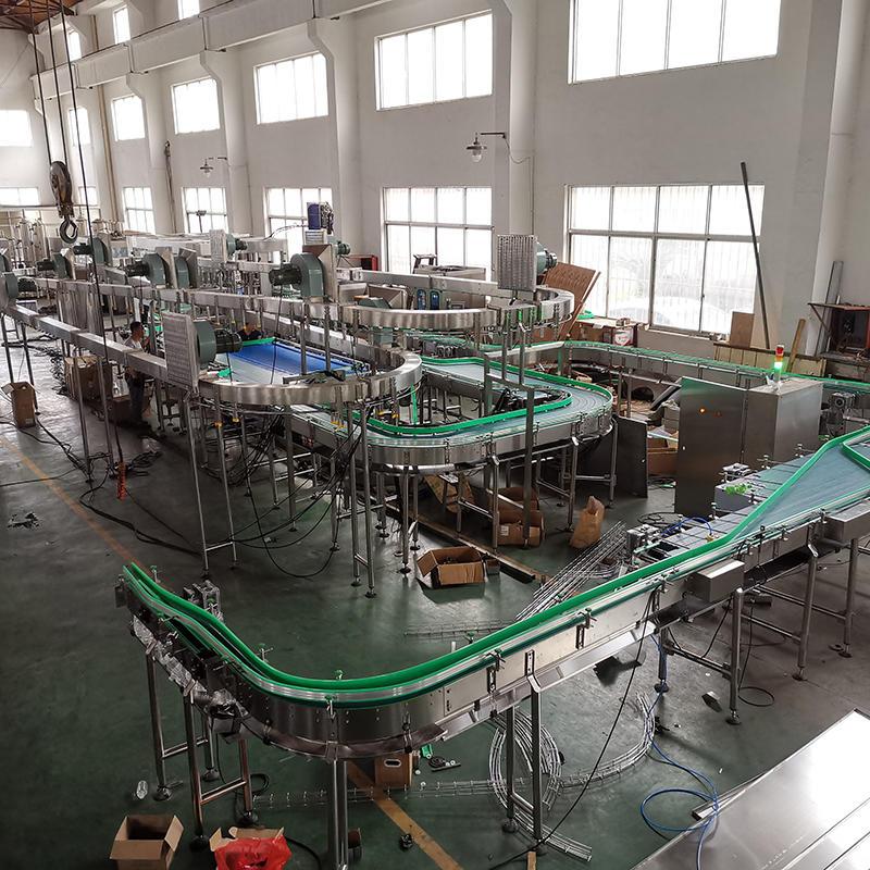 Estado más reciente de la instalación de la línea de producción de llenado de agua mineral