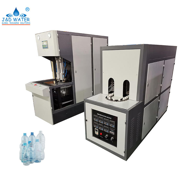 Semi Automatic Pet Plastic Bottle Stretch Blow Molding Machine Bottle Macking Equipment Manufacturer