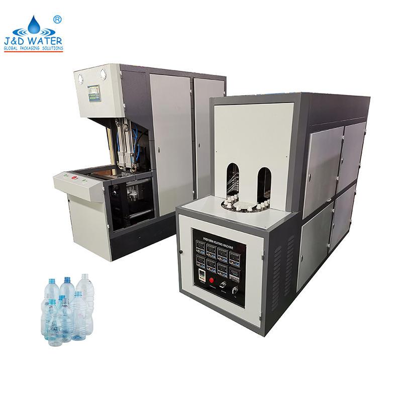 Полуавтоматическая машина для выдувания пэт пластиковых бутылок