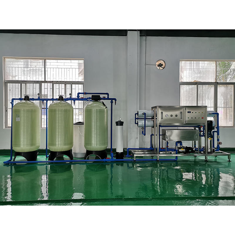Automatic Drinking Mineral Water Treatment Plant RO Water Machine System