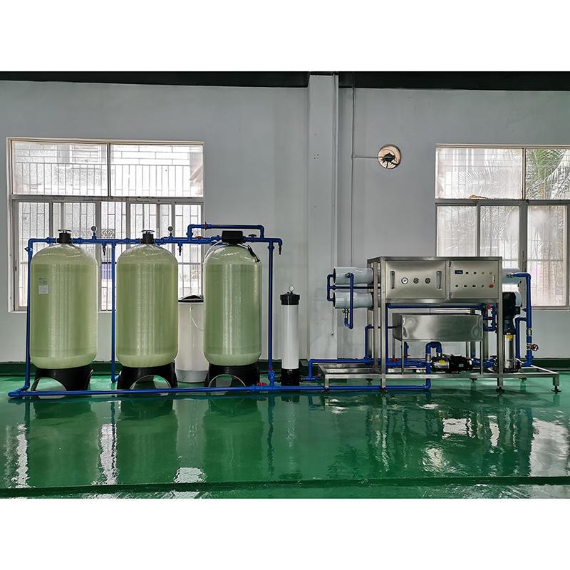 Автоматическая установка для очистки питьевой минеральной воды