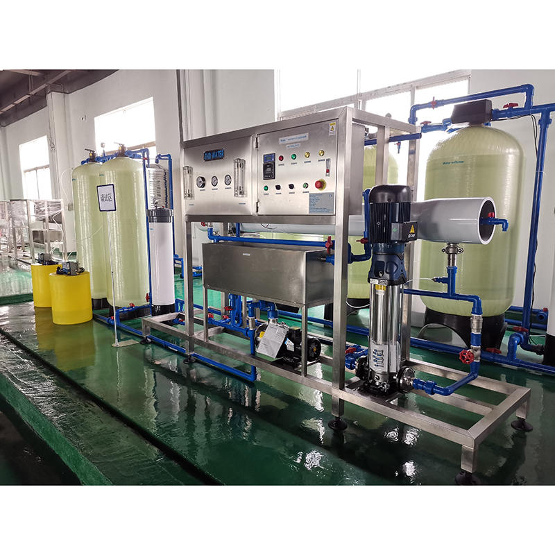Mineral Water Glass Tank Reverse osmosis Water Treatment Machine Plant