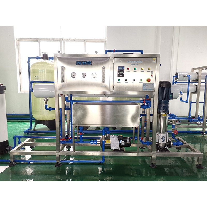 product-Mineral Water Glass Tank Reverse osmosis Water Treatment Machine Plant-JD WATER-img