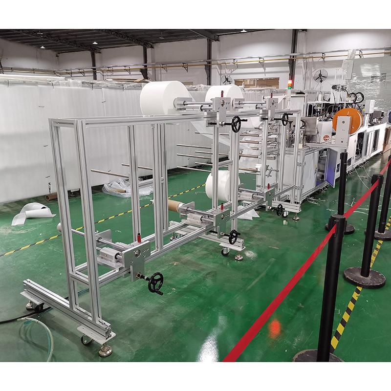 Automatic KN95 Protective Mask Making Machine