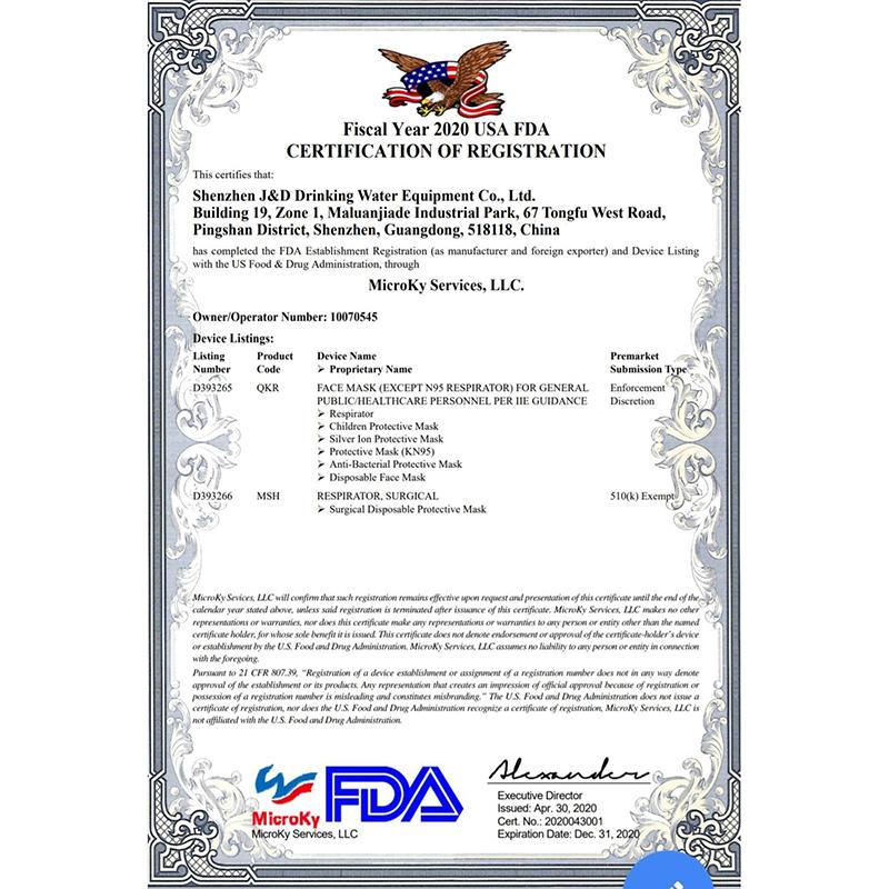 KN95 Mask CE Certification
