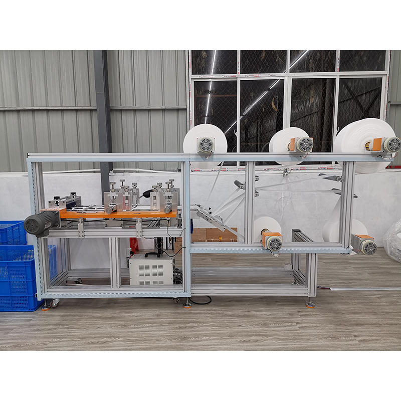Semi-Automatic N95 Mask Making Machine