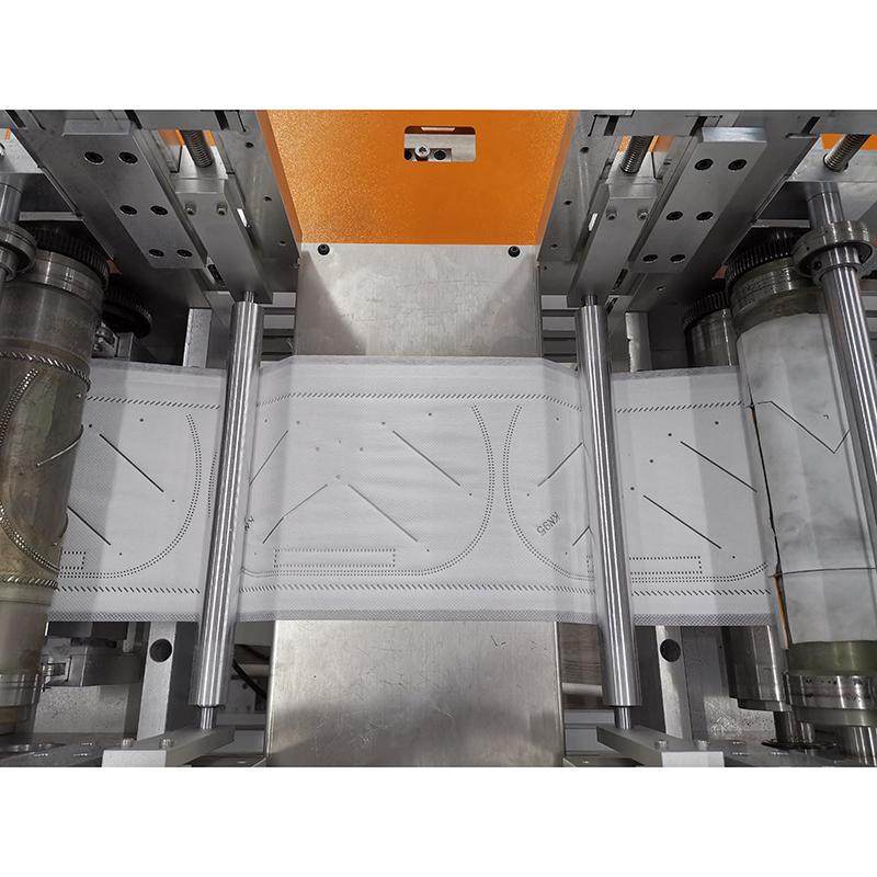 Semi-Automatic KN95 Mask Making Machine