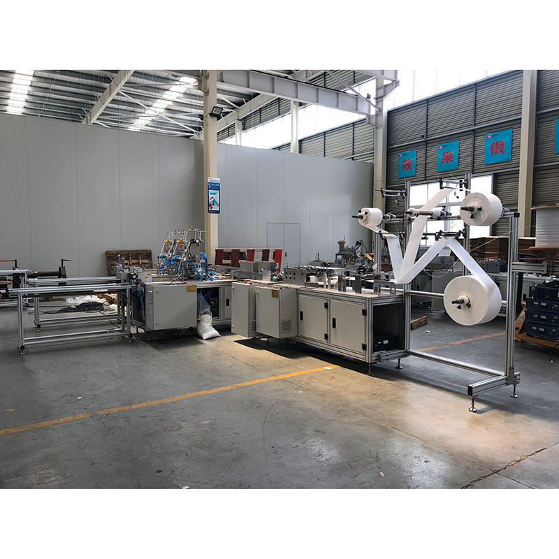 Automatic Disposable Protective Mask Making Machine