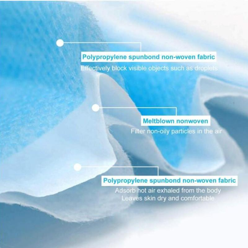 J&D WATER wholesale disposable protective mask high quality competitive price