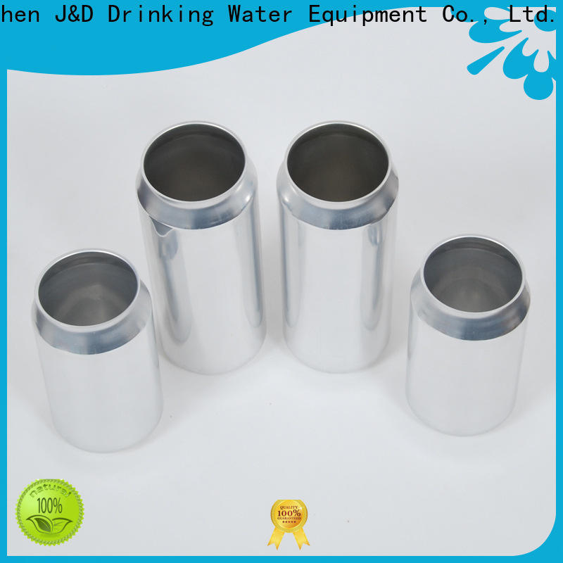 J&D WATER wholesale price plastic can top brand for water packing