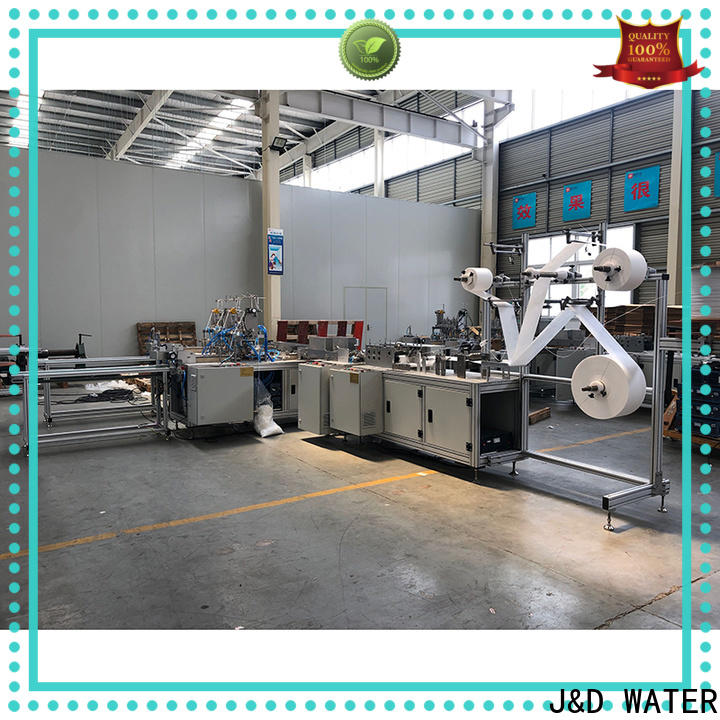 J&D WATER auto face mask making machine cost effective