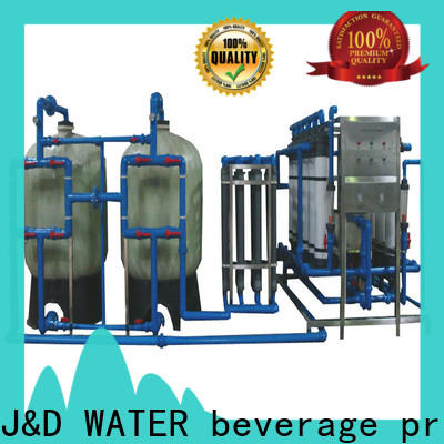 Customized water filter machine softener for beverage