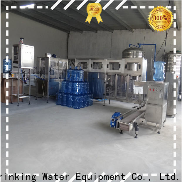 J&D WATER adjusted 3 in 1 filling machine engineering for pure water